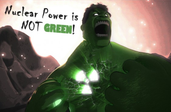 Nuclear Power is NOT GREEN!